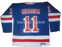 Wholesale NY Rangers #11 Mark Messier light blue CCM jerseys