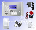 105 Zones Voice LCD GSM wireless Alarm,GSM alarm system,security alarm 5sets/lot with DHL/UPS Shipping(China (Mainland))