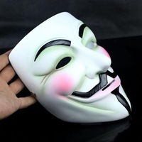 FREE SHIPPING!!! Halloween supplies,High-grade resin mask the theme of the film,V for Vendetta mask,delicate collector's edition