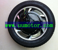 16 inch 500w hub motor for scooter rear wheel version