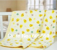 One Piece Cotton Material 60*70CM Ducking  Baby Urinal Nursing Pad Baby Care Towels Waterproof Breathable uhba027