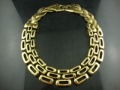 chunky girls statement vintage big choker collar necklace,18K gold plated,2013 fashion jewelry,Min.order is $15,Free shipping