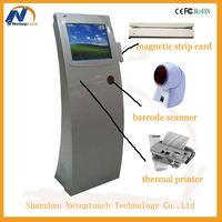 automatic self-service Queue Management kiosk