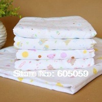 85*93cm 205g 6 layers gauze quilt air-condition towels for baby quality cotton blanket quilt Kids towel Fast shipping uhba019