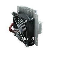 Free shipping  refrigeration system/Cooling system DIY kit heatsink with Peltier cooler TEC1-12706