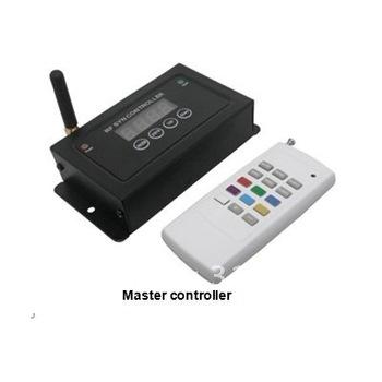 Led Controller Wireless Synchronization Black RF 3 Channels 12V &24V DC