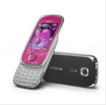 7230 Original Nokia 7230 Bluetooth FM JAVA 3.15MP Unlock Cell Phones  Refurbished