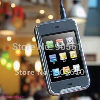 Free Shipping 2.8 Inch 16GB touch screen mp3 mp4 fm raido video game ebook music player