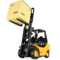 Wholesale - Desktop Crane Remote control cars REMOTE CONTROL MINI FORKLIFT RC Truck