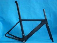 FREE SHIPPING!! Carbon Frame, Carbon Road frame 49cm 3K BSA68 includes Frame+Fork+SeatPost&clamp+Headset