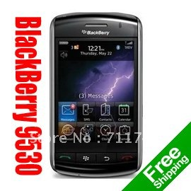 Original Blackberry 9530 storm Unlocked Smartphone Valid PIN+IMEI 3G Phone Free Shipping+ Holster(China (Mainland))