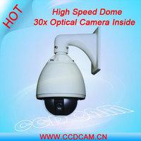 CCTV 650TVL Zoom Camera SONY PTZ Speed Dome Camera 30x Optical Zoom Camera Indoor Outdoor High Speed PTZ Camera EC-SP3016