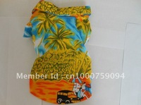 XS/S/M/L/XL Pet Dog Summer Hawaiian Beach Camp Shirt Clothes Clothing Apparel