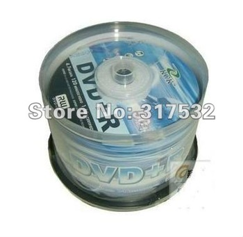 Free shipping Banana KCK DVD+R 4.7GB 16X blank media DVD 50pcs/lot