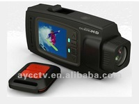 2012 Newest Extreme Outdoor Sport Camera 1080p with 2.0inch screen & Remote