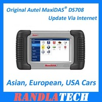 2012 Hot Sale Original Autel MaxiDAS DS708 Update Via Internet Free Shipping By DHL