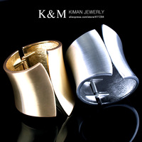 K&amp;M---New design chunky bangle two color MOQ $20 Free shipping