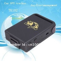 Free Shipping, Global Smallest GPS Traking Device Realtime Mini Spying Car GPS Tracker TK102, 4 Bands, For GSM GPRS GPS