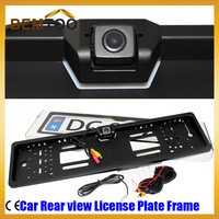 Car Rear view License Plate Frame Parking Reverse Camera 170 Degree  Rearview Camera Rear View Plate Frame,Free Shipping