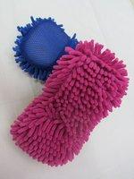 polyester sponge cache block chenille cache block sponge chenille cleaning block