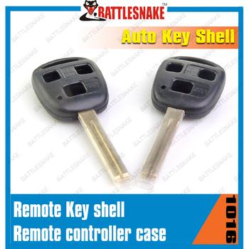 Original car key shell for Toyota Lexus 3 button car key shell remote control case  free shipping