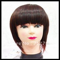 Free shipping for MIN ORDER USD15  synthetic short  wigs  2T33