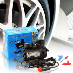 Free shipping,portable mini Car Auto 12V Electric Pump Air Compressor Tire Inflator(China (Mainland))