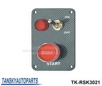 Tansky-Racing Switch Kit Car Electronics/Switch Panels-Flip-up Start/Ignition/Accessory TK-RSK3021