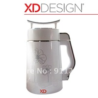 Intelligent Soymilk Maker[White],Multi-function,full nutrition,smart spill-proof & anti-dry boil,Double-layer,heat-resistant