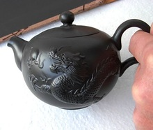 YI XIng zi sha tea pots t03 dragon phoenix auspicious a set with Certificate gift package