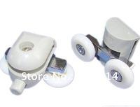 Shower Door roller  runners double  Wheels  plastic pulley