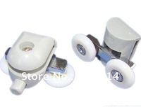 Shower Door roller  runners double  Wheels  plastic pulley