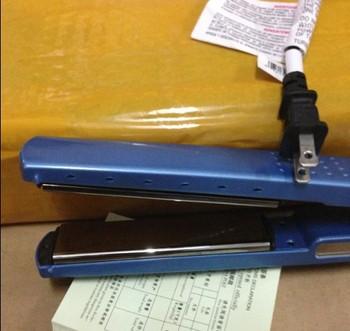 Hair Straightener Pro Nano Titanium ceramic heaters hair straightening iron 1 1/4'' Plate Width 450F BABNT2091T