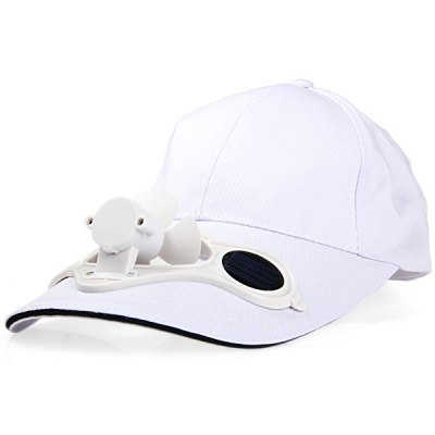 EMS Free Shipping wholesale 50pcs Classic Cap with Solar Fan+Cooling Fan Hat for Golf/Baseball Sport(China (Mainland))