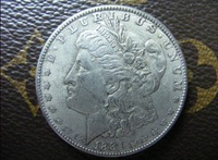 1881-CC morgan dollar silver coin