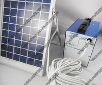 Free shipping 6 in 1 solar energy/ 12V 6W solar panel/ 6 hours working time/ LED+ USB+ Battery+ AC charger+ solar system