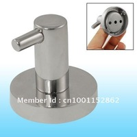 SUS304 Stainless Steel Wall Mounted Polished Single Robe Hook Hanger for Bathroom free shipping
