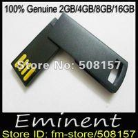 Free shipping 5pcs/lot usb flash drive 2GB/4GB/8GB/16GB genuine memory stick mini Swivel flash disk Popular promotion gift usb