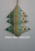 christmas decoratio-stuff tree-fabic tree hanger--8designs-by randomly-free shipment