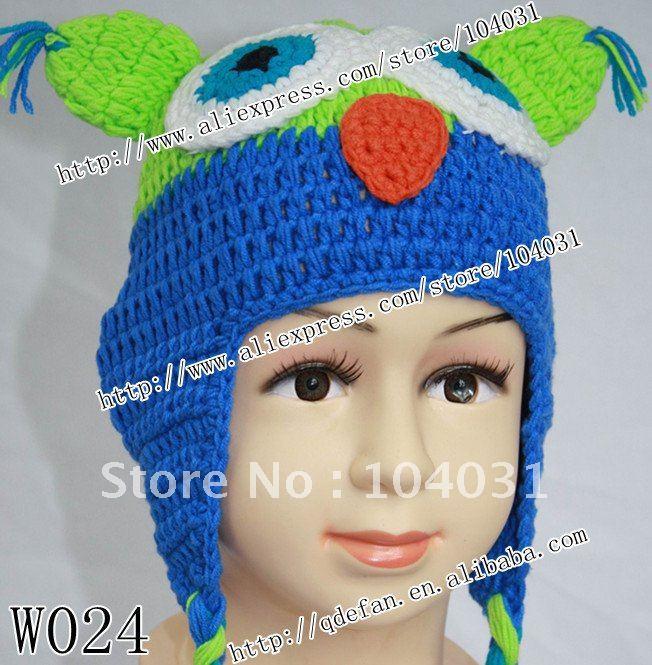 Meninos Frete grátis (10 unidades / lote) 100% algodão crochet chapéus do bebê produtos de boutique para crianças e crianças handmade tampas W024(China (Mainland))