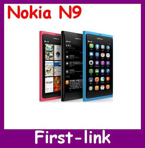 N9 Original Nokia N9 Nokia N9-00 Lankku,A-GPS, WIFI,3G, GSM,8 MP Camera, 16GB Internal Unlocked Mobile Phone EMS Free Shipping(China (Mainland))
