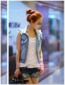 Wholesale - 2012 NEW Free Shipping Women's Clothing dress Fashion Slim jacket Denim vest coat T62224