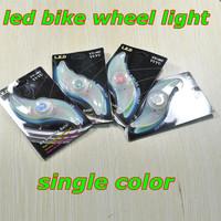 4pcs/lot single color bicycle tail led light,cycling bike led  flash tire lighting,super beautiful like a lotus