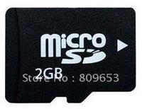 free shipping+Real Capacity 2GB  mini TF card TransFlash Memory Card