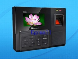 Promotion Fingerprint Time attendance TFT TCP/IP Time Recorder(China (Mainland))