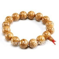BRO986  Buddhist Dragon Eye Bodhi seeds Prayer wrist mala,12mm,prayer bracelet stretch for man