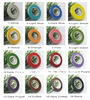Free shipping Wholesale mix colors paper tape for nylon stocking flower and butterfly accessories DIY handmade(10pcs/lot)
