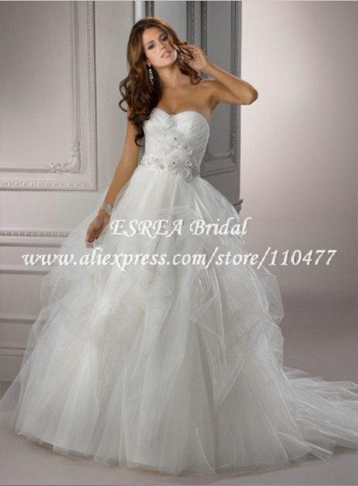 Свадебное платье ESREA Ruched MH754