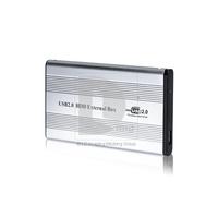 "2.5"" USB 2.0 HDD Case Hard Drive IDE External Enclosure Box Free/Drop Shipping"