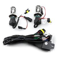 Hid xenon light  lamp bulb  H4 H/L Auto HID Xenon Bulb  h4  xenon lights for cars hid xenon h4-3 4300k